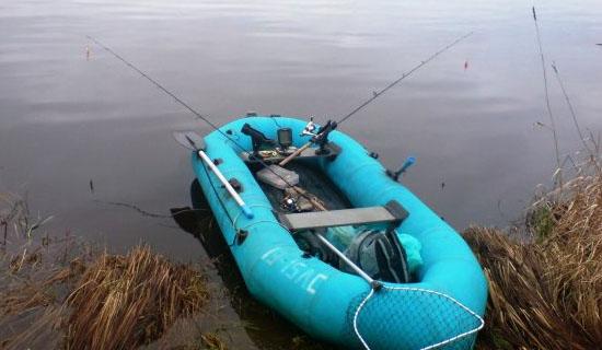 Как хранить надувную лодку