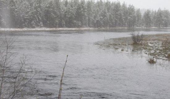 Рыбалка в конце осени-начале зимы
