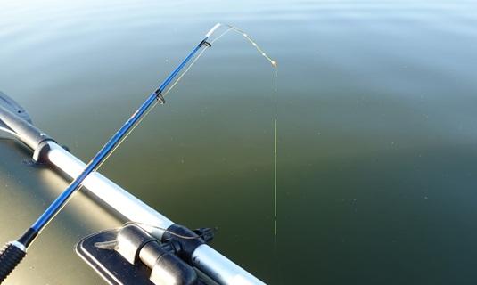 ловля на летний кивок на течении с лодки видео