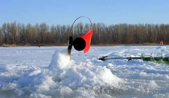 Катушка для зимней рыбалки