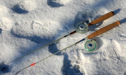 Снасти для ловли окуня зимой на блесну