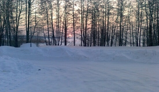 Ловля подуста зимой