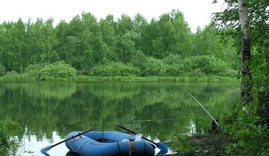 Рыбалка на водохранилище Трасна