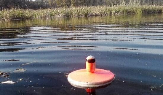 ловить кружками на течении