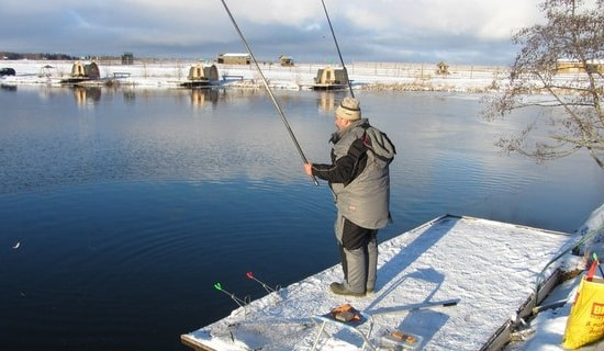 Отчет о рыбалке: Львовские пруды 18 ноября