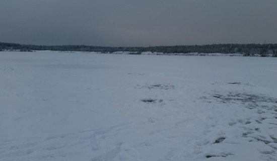 Отчет о рыбалке на Волге в районе Чебоксарской ГЭС 19 декабря
