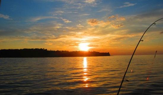 рыбалка с берега на онежском