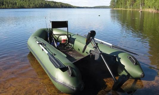 Тюнинг лодки ПВХ для рыбалки фото